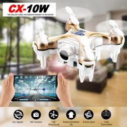 Cheerson CX-10W Micro Wifi Quadcopter With Camera - Gold