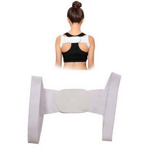 Chest Belt Posture Maintenance - White