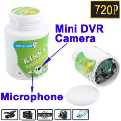 Chewing Gum Container Spy Camera