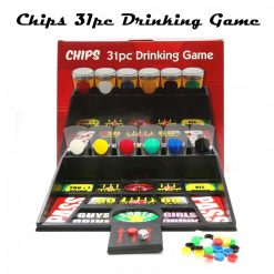 Chips 31pcs Drinking Board Game - Black