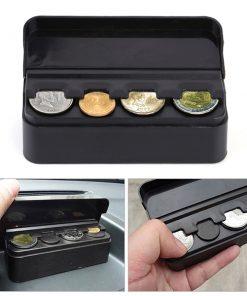 Car Coin Holder Organizer - Black