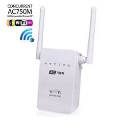750 Mbps Wifi Repeater Extender Access Point - White