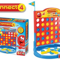 Connect 4  Disc Stack Family Game - Red