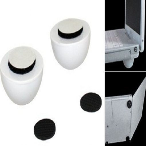 Cool Ball Skidproof Pad Laptop Notebook Cooler Stand - White