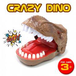 Crazy Dino Dentist Mini Game - Brown