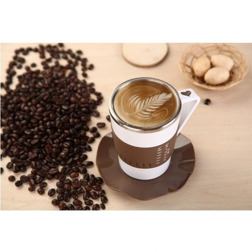280 ml Cup with Temperature Display and Cup Mat