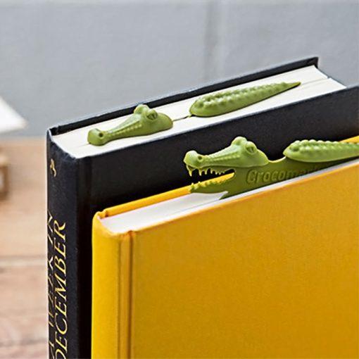 Crocomark Bookmark Safari Design - Green