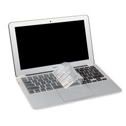 "Crystal Guard Soft Silicone Keyboard Case Cover for Apple Macbook Air 11"" - Transparent"