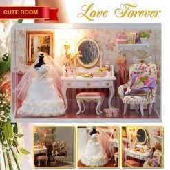 Cute Room Love Forever Dollhouse 19.6*10*13.5CMCM
