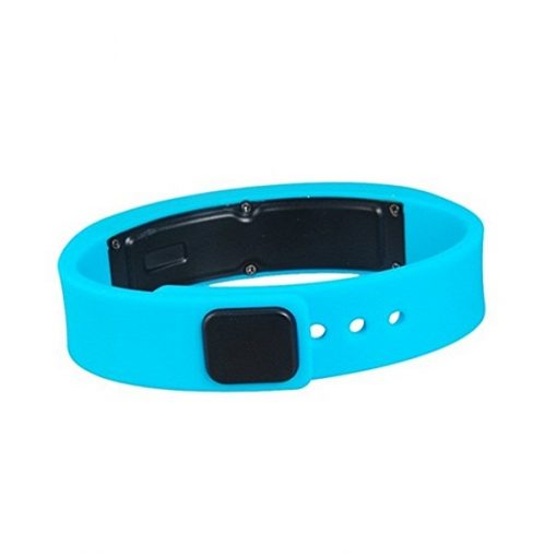 Cyband Bluetooth 4.0 Smart Wristband Waterproof with Activity Tracking and Charger - Blue