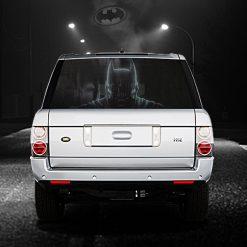 High Beam Super Hero Car Tint Back Window Sticker DT11 - Black