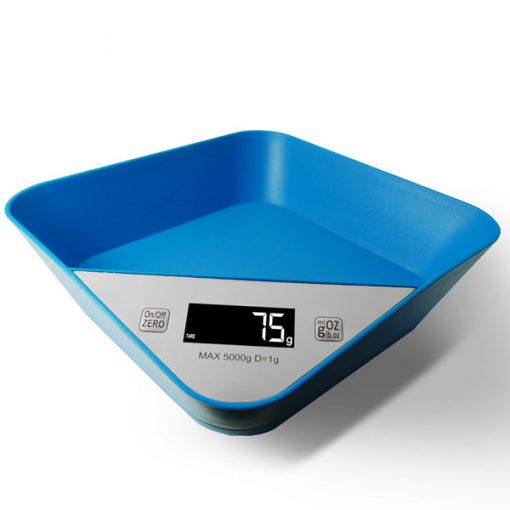 Digital Kitchen Tray Scale - Blue
