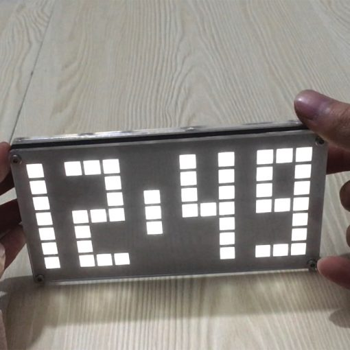 Digital LED Clock DIY Kit - Black