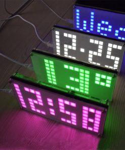 Digital LED Clock DIY Kit - Black