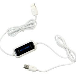Data Link for Easy Copy File Transfer between 2 PC USB Data Cable