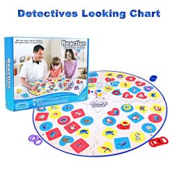 Detectives Looking Chart - Blue