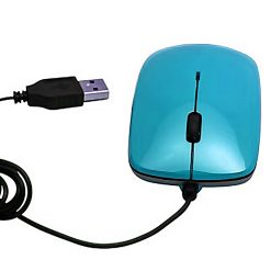 Digio Wired USB Optical Mouse - Blue