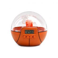 Digital 3D Basketball Game Alarm Clock - Orange