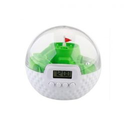 Digital 3D Golf Game Alarm Clock - Green