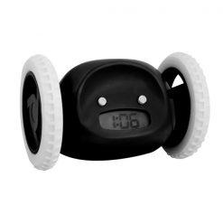 Digital Running Alarm Clock - Black