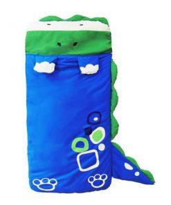 Dinosaur Animal Shaped Toddler Sleeping Bag for Children - Blue