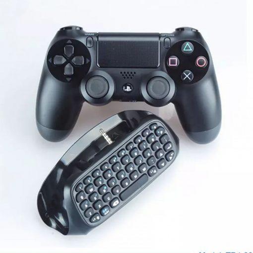 DOBE Wireless Keyboard for Ps4 Controller - Black