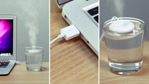 Floating Mini USB Doughnut Humidifier