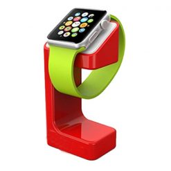 Charging Dock Compatible For Apple Watch -  Red