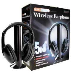 5 in 1 Wireless Headset
