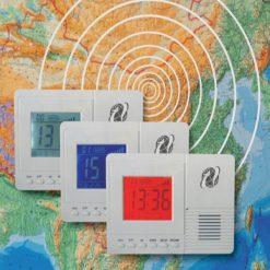 Earthquake Earlier Warning Detector Alarm- White