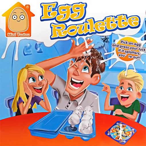 Egged Fun Roulette - Blue