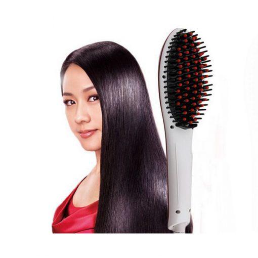 Electric Hair Straightener - White