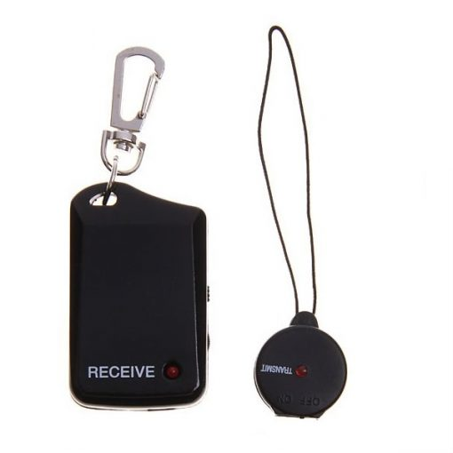 Electric Anti Lost/Anti Theft Personal Security Alarm - Black