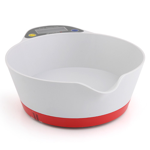 Electric Kitchen Digital Scale Max 5Kg - Red
