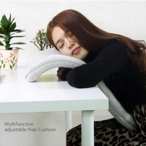 Ergonomic Travel Pillow Neck Rest Nap Cushion