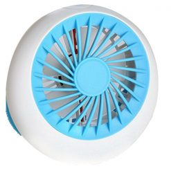 Rechargeable USB Mini Handheld Fan - Blue