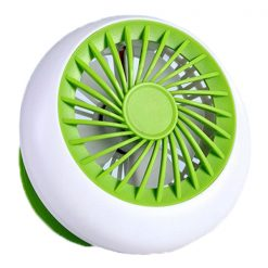 Rechargeable USB Mini Handheld Fan- Green
