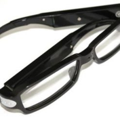 Eyeglass With Hidden 720p Video Camera - Black