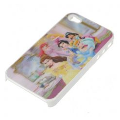 Fairy Tale Princess 3D Protective case for Iphone 4/4s - White