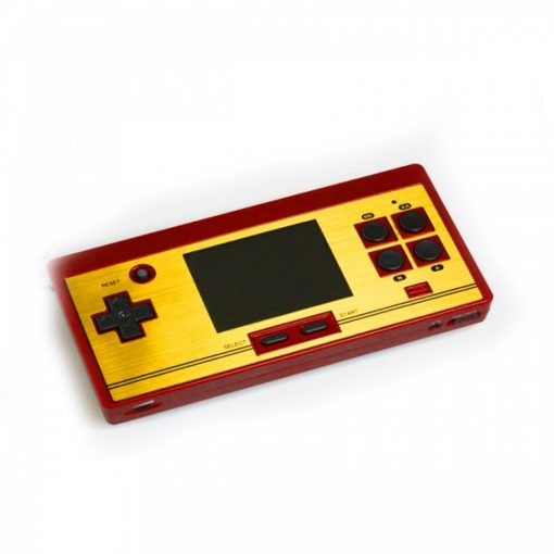 Portable Classic 8 bit FC Handheld Console with 2nd Player Controller - Red