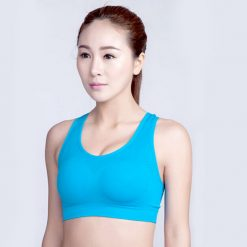 Female Sport Bra Medium - Blue