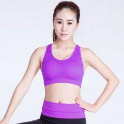 Female Sport Bra Large - Purple