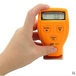 Film Coating Thickness Guage Measurement - Orange