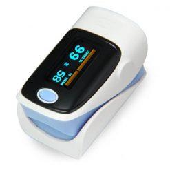 Fingertip Pulse Oximeter - Blue
