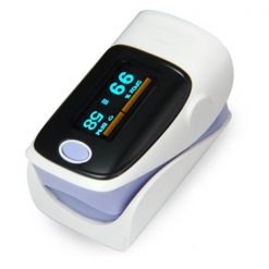Fingertip Pulse Oximeter - Purple