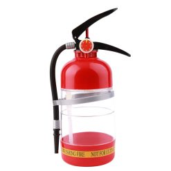 Fire Extinguisher Drink Dispenser 1.5 Liters – Red