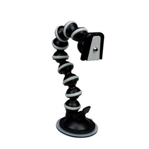 Camera Gorilla Pod With Vacuum Cup Below 250g Load - Black