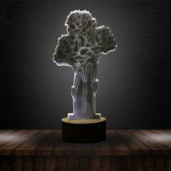 3D LED Light Flower Shaped Table Lamp