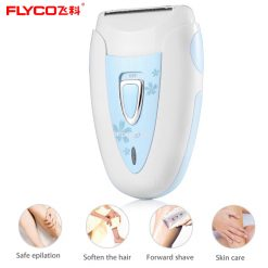 FLYCO Lady Wet Dry Electric Shaver - Blue