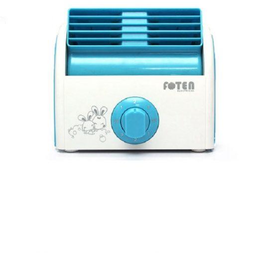 Foten Mini Air Cooler Fan - Blue